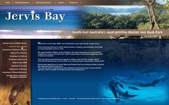 NPWS-Website