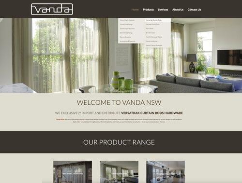 Vanda NSW New Website